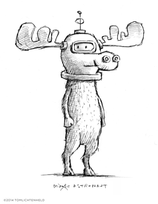This is a Moose by Richard T. Morris and Tom Lichtenheld